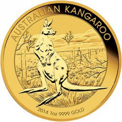 AUSTRALIAN NUGGET 1 oz gold