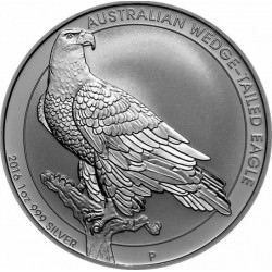 1 oz silver WEDGE-TAILED EAGLE 2016 Presale