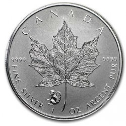 1 oz silver MAPLE LEAF 2016 Privy Monkey