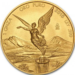 1 oz gold LIBERTAD 2015