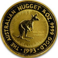 GOLD NUGGET 1/4 oz 1993