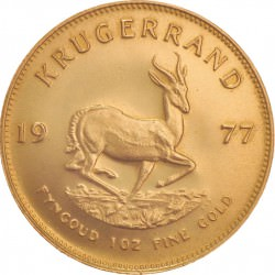 Or GOLD Krugerrand 1 oz 1977