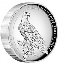 1 oz silver WEDGE-TAILED EAGLE 2016 HIGH RELIEF PROOF Box+coa