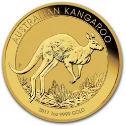 1 oz gold NUGGET 2017 KANGAROO
