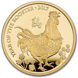 1 oz gold UK LUNAR SHEEP 2015