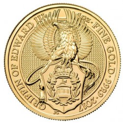 1 oz gold QUEEN'S BEAST 2017 GRIFFIN