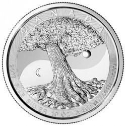 10 oz silver TREE OF LIFE 2017