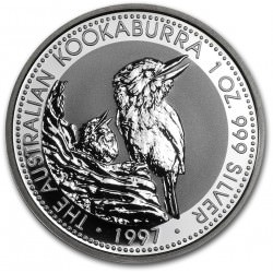 1 oz silver KOOKABURRA 1997