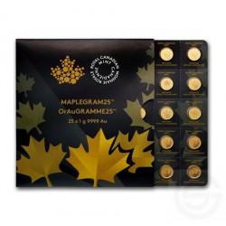 MAPLEGRAM25 Gold CANADA 2014