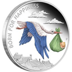 Born for Happiness 2014 1/2oz Silver Proof Coin