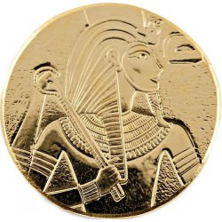 1 oz gold TCHAD KING TUT 2017