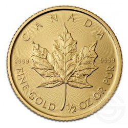 Gold Maple Leaf 1/2 oz gold
