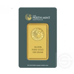 BAR 100 gram PERTH MINT
