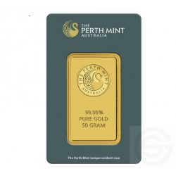 BAR 50 gr PERTH MINT