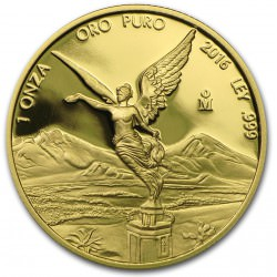 1 oz gold LIBERTAD 2016 PROOF