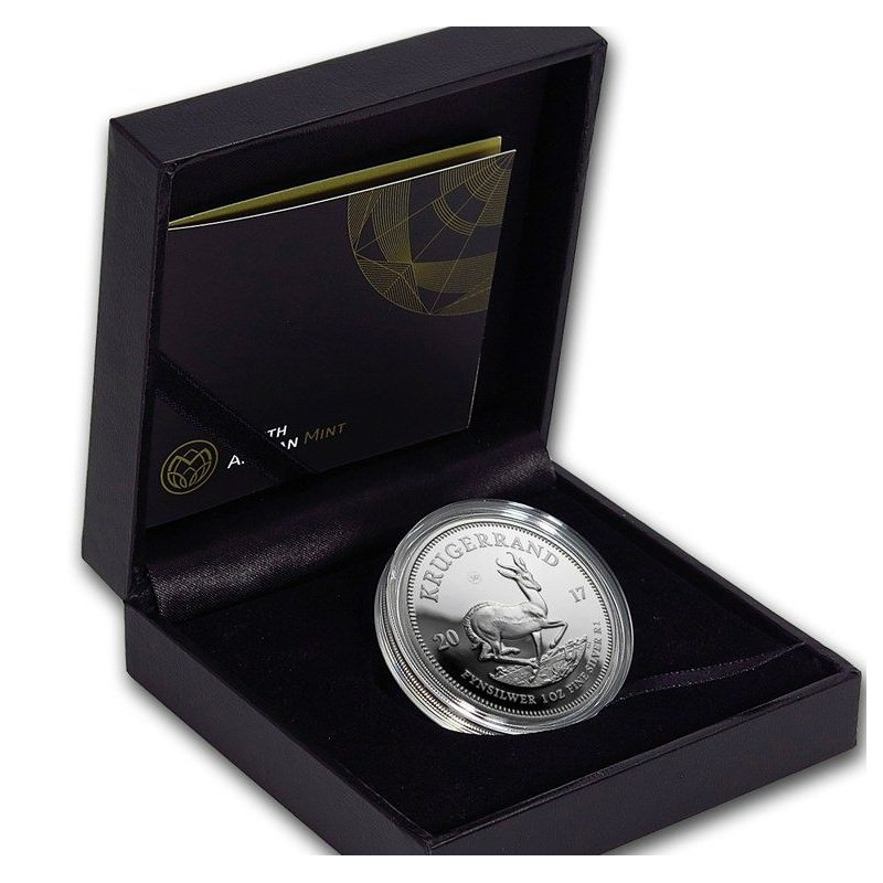 1 Oz Silver Krugerrand 2017 Anniversary Proof Goldsilver Be