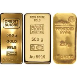 GOLD 500 GRAMM BAR