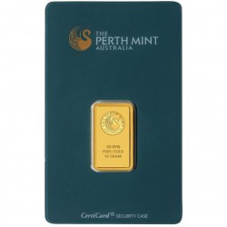BAR 10 gr PERTH MINT
