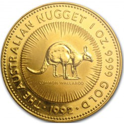 GOLD NUGGET 1 oz