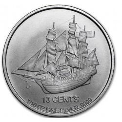 1/10 oz silver COOK ISLANDS 2015