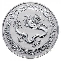 NIUE 1 oz silver Ceslestial GREEN DRAGON 2019 $2