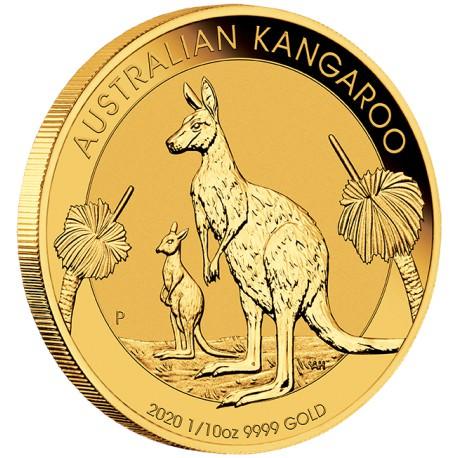 Pm 1 10 Oz Gold Nugget 2020 Bu 15 Australia Goldsilver Be