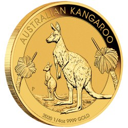PM 1/4 oz GOLD NUGGET 2020 BU $25 Australia Pre-sale Nov.4