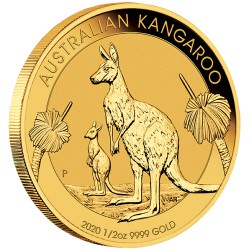 PM 1/2 oz GOLD NUGGET 2020 BU $50 Australia Pre-sale Nov.4