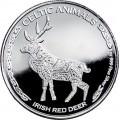 CHAD 1 oz silver Celtic Animals 2019 IRISH RED DEER CFA500