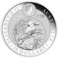 PM 10 oz silver KOOKABURRA 2020 $10 Australia Pre-sale Oct.1st