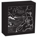 PM Australian Lunar Series III 2020 Year of the Mouse 1oz Silver Proof High Relief Coin