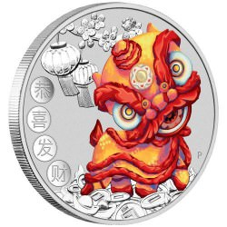 Chinese New Year 2019 1oz Silver Coin - 3rd dragon of the series