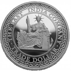 1 oz silver FRENCH TRADE DOLLAR 2020 - PROOF