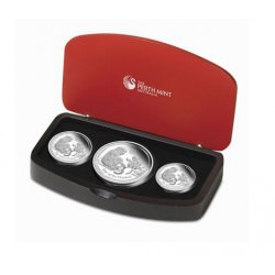Year of the Monkey - Lunar Series II 3-Coin Set