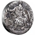 Gods of Olympus 2017 2oz Silver Antiqued 12 Coin Collection