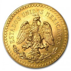 MEXICO 50 PESOS GOLD
