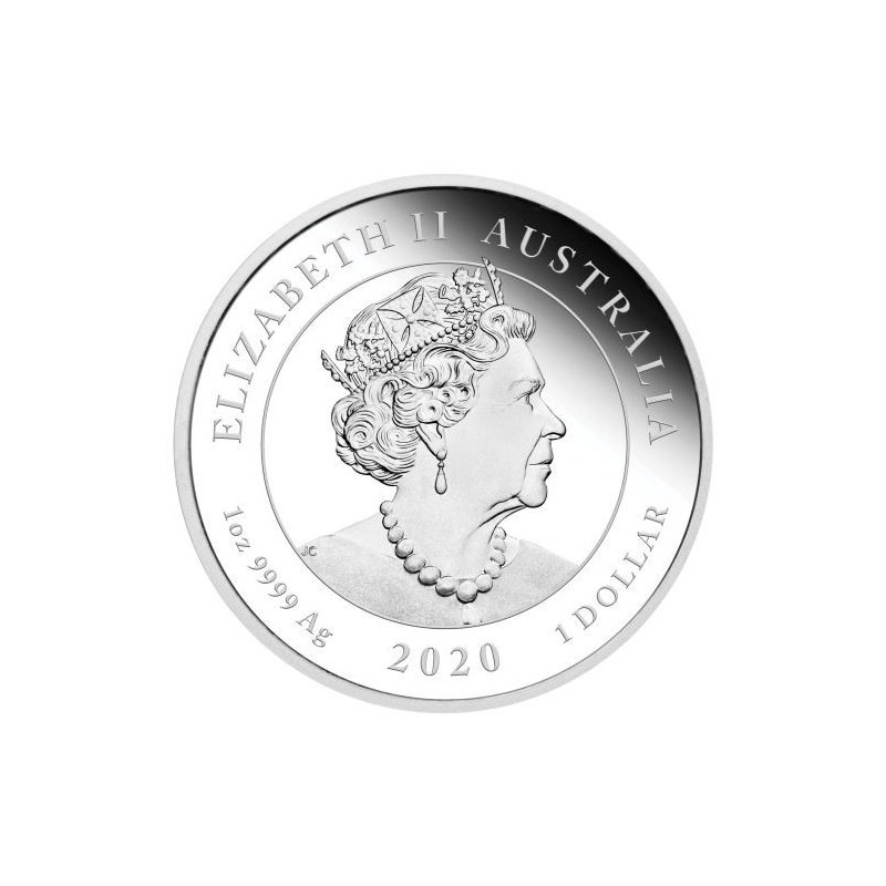 Wedding 2020 1oz Silver Proof Coin: PM One Love 2020 1oz Silver Proof Coin VALENTIJN GESCHENK
