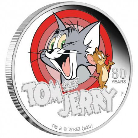 PM Tom and Jerry 2020 1oz Silver Proof Coin