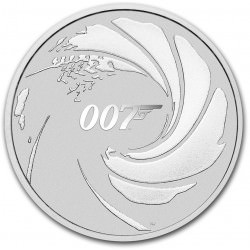 Perth Mint 1 oz silver JAMES BOND 2020