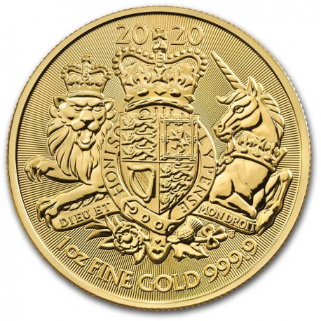 GOLD 1 oz GOLD The ROYAL ARMS 2020 £100
