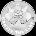 Perth Mint 1 oz silver HOMER SIMPSON 2019 D'OH!