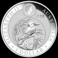 World Money Fair Australian Kookaburra 2019 1oz Silver Coin WMF