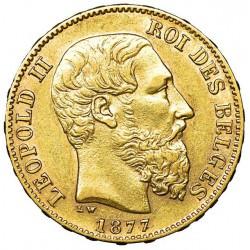 20 fr GOLD LEOPOLD II