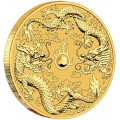 Perh Mint 1 oz GOLD DOUBLE DRAGON 2020