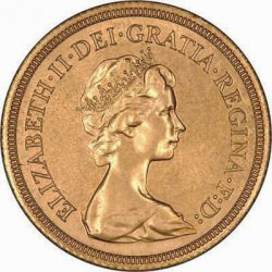 FULL GOLD SOVEREIGN 1966