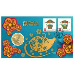Tom and Jerry 2020 Stamp and Coin Cover