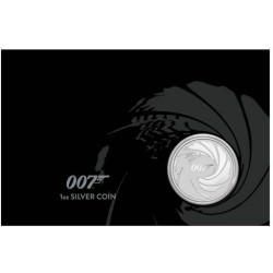Perth Mint JAMES BOND 007 2020 1oz SILVER BULLION COIN $1 in CARD