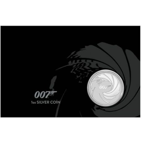 Perth Mint JAMES BOND 007 2020 1oz SILVER BULLION COIN $1