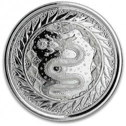 1 oz silver Serpent of Milan 2020 2tala