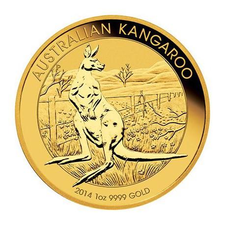 AUSTRALIAN NUGGET 1 oz gold